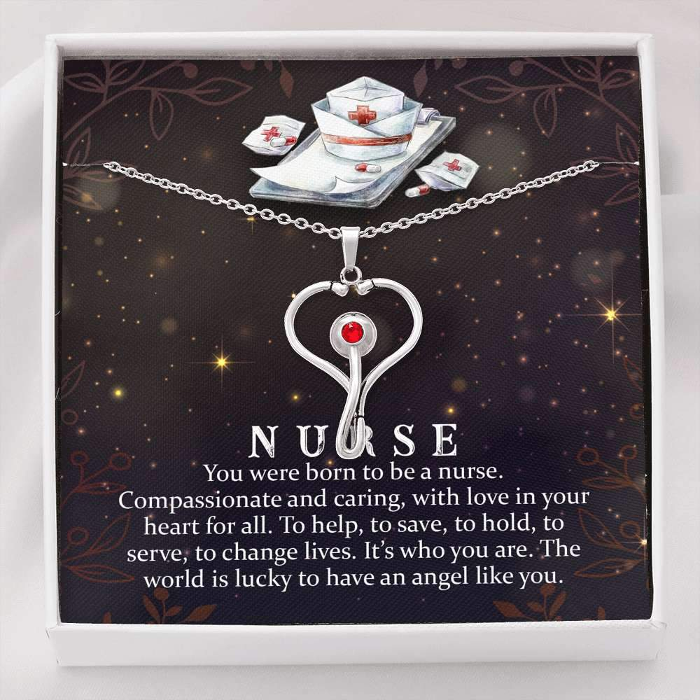 Nurse Stethoscope Necklace