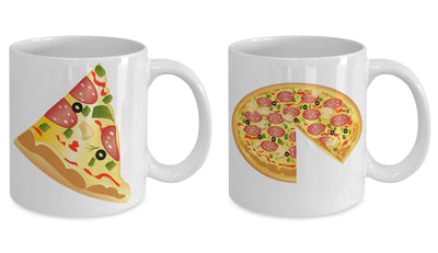 The Pizza and Home Slice Mug Pair!