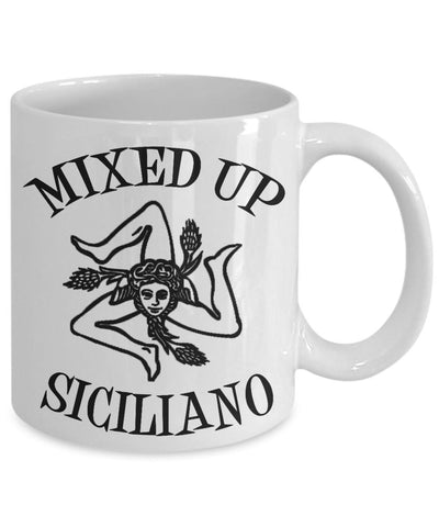 Hey Mambo! Are You a Mixed Up Siciliano - Mug
