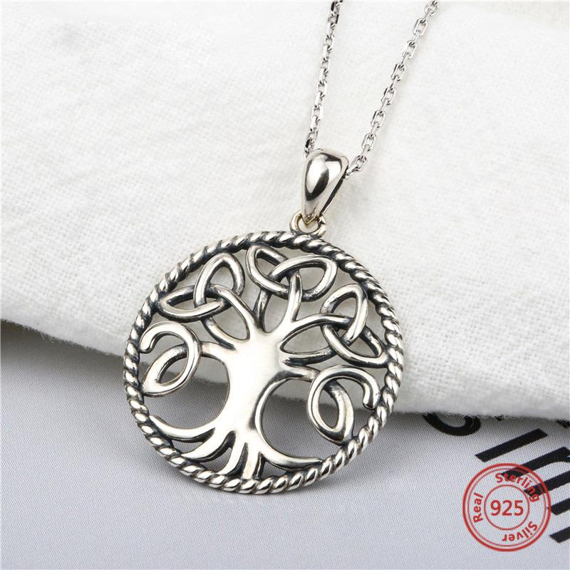 Tree of Life Necklace - .925 Sterling Silver