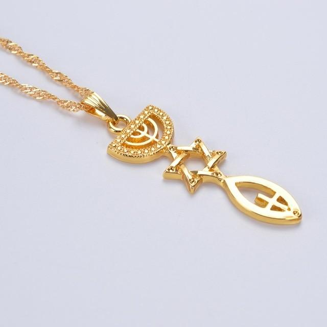 Messianic Seal Necklace - Free US Shipping