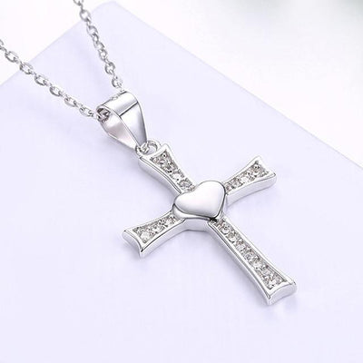 100% 925 Sterling Silver Cross - Free Shipping Today
