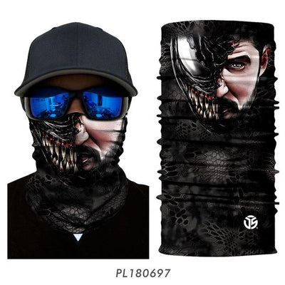 Motorcycle Neck Warmer Face Mask
