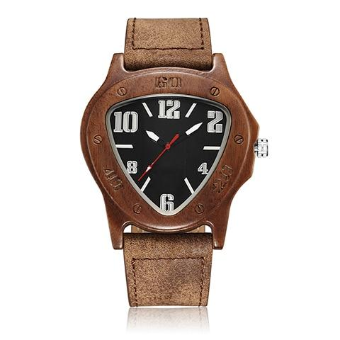 Unique Retro Wood Watch Quartz
