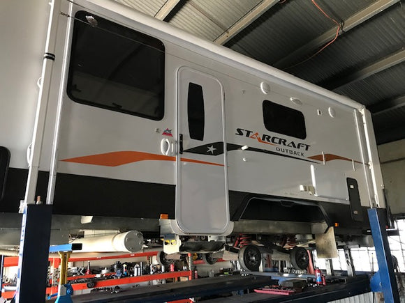 ATM Suspension Upgrades Caravans, Campers and Trailer