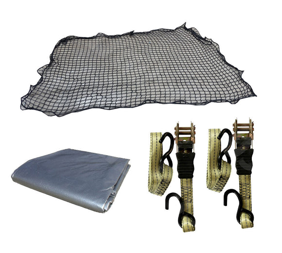 Cargo Net Tarp and Strap Kit
