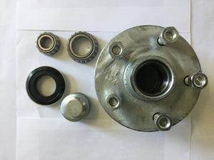 Galvanised Holden HQ Lazy Hub with LM Bearing Kit