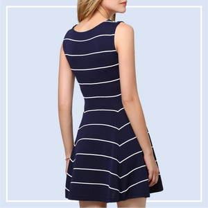 Shopping Online for a Timeless Striped Dress