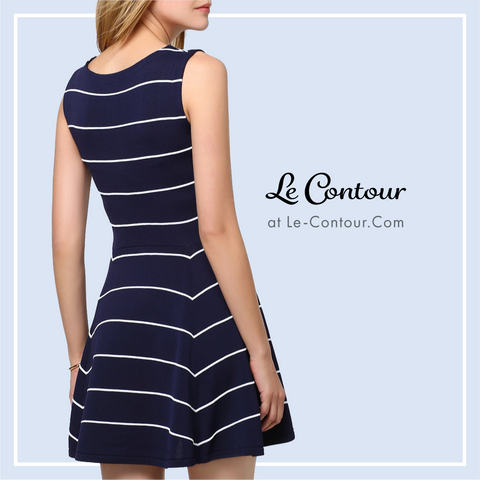Striped Dresses at Le-Contour.Com