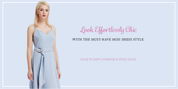 Look-effortlessly-Chic-With-The-Must-Have-Midi-Dress-Style