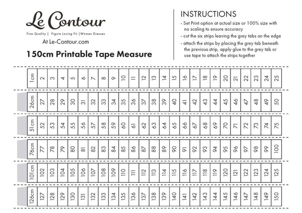 graphic relating to Printable Tape Measure for Body known as Evaluate Your self for On line Apparel Purchasing