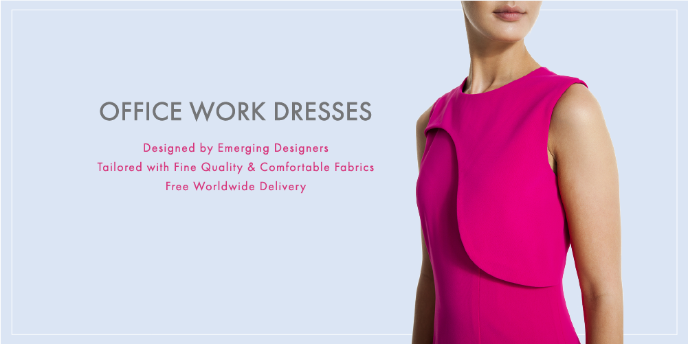 Work-Dresses-Online-Singapore-Ladies-Office-Wear