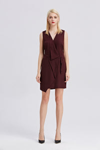 Sleeveless-V-Neck-Sheath-Dress-Full