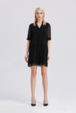 Classic-Chiffon-Shift-Dress-Black-Full