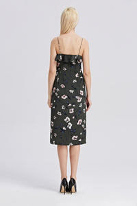 Strappy-Midi-Floral-Print-Dress-Back