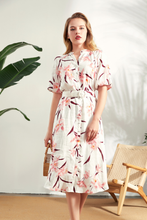 Load image into Gallery viewer, Thea-Linen-Shirt-Dress-Main