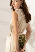 Load image into Gallery viewer, VALENCIA EMBROIDERED LACE DRESS