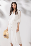 Ava-V-Neck-Lace-White-Dress-Focus