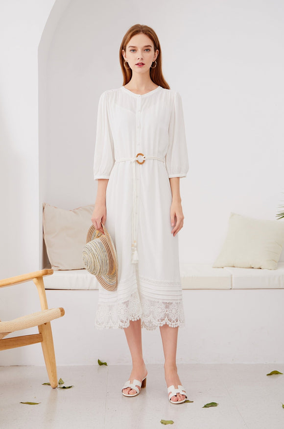Sienna-Belted-Midi-Dress-White-1