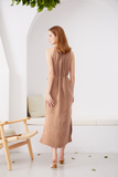 Cupro-Maxi-Dress-Beige-3