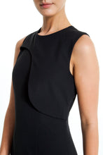 Load image into Gallery viewer, Flap-Panel-Sleeveless-Sheath-Dress-Detailed