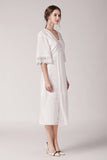 Elanor-Embroidery-Midi-Dress-White-Side