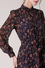 Load image into Gallery viewer, Valentina-Floral-Dress-Details