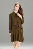Zegna-Shift-Dress-Khaki-Focus