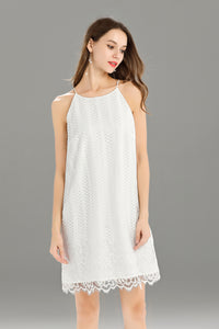 Helena-Lace-Shift-Dress-White-Details