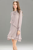 Zegna-Shift-Dress-Lilac-Ash-Side