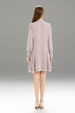 Zegna-Shift-Dress-Lilac-Ash-Back