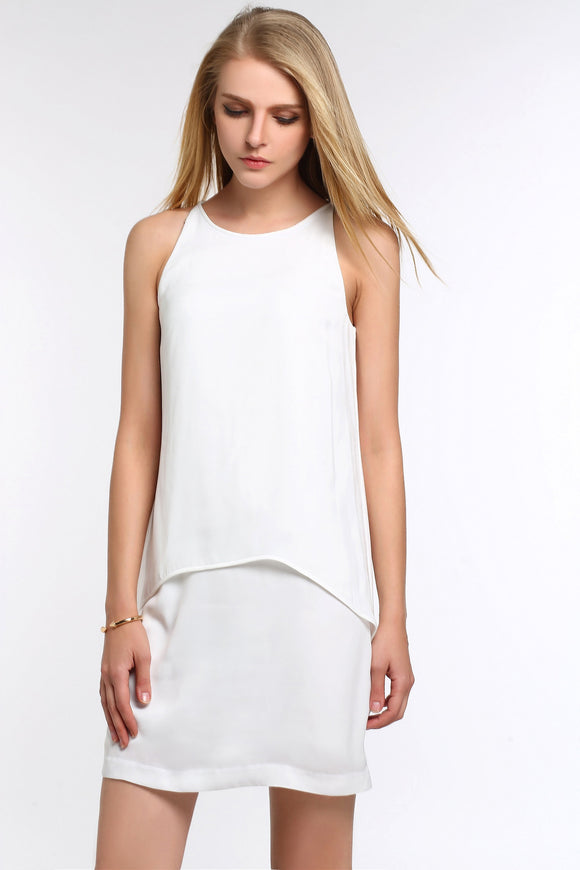 SLEEVELESS-TIERED-CHIFFON-DRESS-WHITE