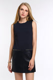 SLEEVELESS-DRESS-WITH-FAUX-LEATHER-PANEL-ROYAL-BLUE