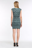 Stretch-Knit-Sleeveless-Bodycon-Dress-Dark-Green-Back