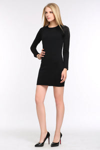 KNIT-BLACK-DRESS-WITH-SHEER-SLEEVE-PANEL-FULL
