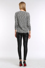 Load image into Gallery viewer, MARBLED-KNIT-SWEATER-BACK