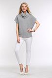 DRAPED-COWL-SHORT-SLEEVE-KNIT-SWEATER-GREY-FULL