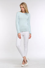 Load image into Gallery viewer, PASTEL-KNIT-SWEATER-LIGHT-BLUE-FULL
