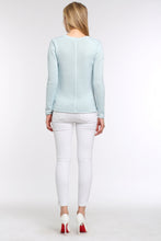 Load image into Gallery viewer, PASTEL-KNIT-SWEATER-LIGHT-BLUE-BACK
