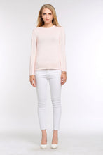 Load image into Gallery viewer, PASTEL-KNIT-SWEATER-LIGHT-PINK-FULL