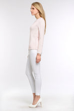Load image into Gallery viewer, PASTEL-KNIT-SWEATER-LIGHT-PINK-SIDE