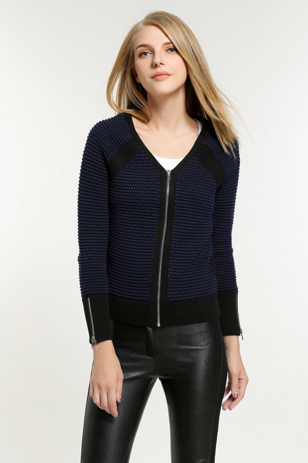 Rib-Trimmed-Knit-Jacket-Main