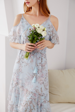 Load image into Gallery viewer, Leticia-Off-Shoulder-Floral-Dress-3