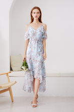 Load image into Gallery viewer, Leticia-Off-Shoulder-Floral-Dress-1