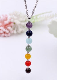 Chakra Natural Stone Necklace