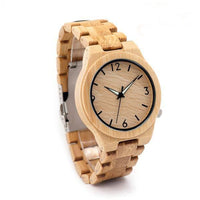 Authentic Bamboo Wooden Watch For Men