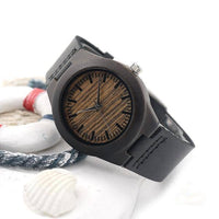 Authentic Bamboo Wooden Watch For Women