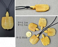 Carved Turtle Talisman
