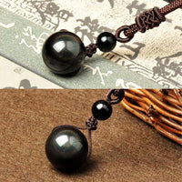 Celestial Eye Obsidian Necklace