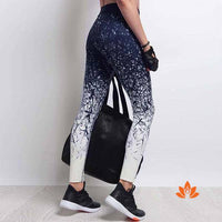 High Waist Graffiti Yoga Pants